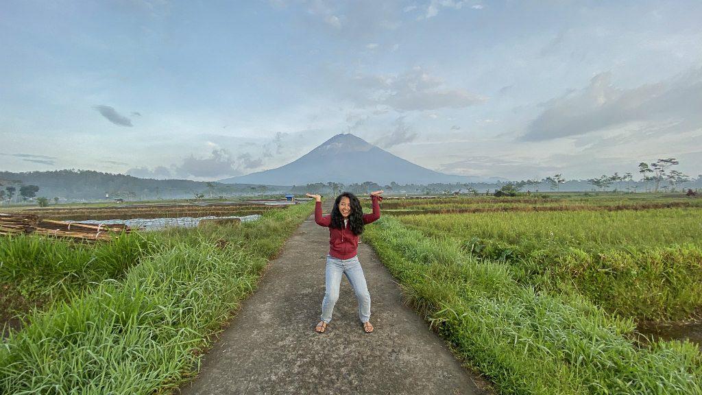 lihat lava gunung semeru